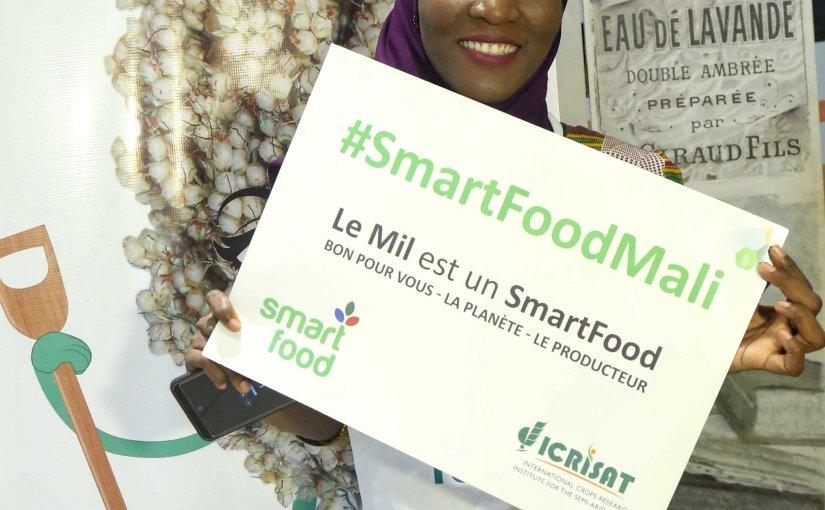 Gabougouni, ambassadrice de la campagne Smart Food!